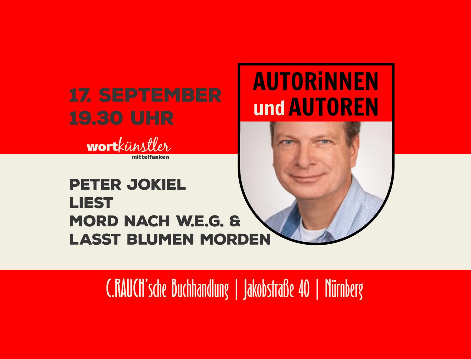 Peter Jokiel | Laßt Blumen morden